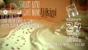 Stroom Bemo gaat naar Tjikini..