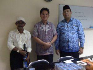 Pertemuan di Dinas Perhubungan PemProv DKI Jakarta.